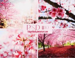 PSD #10 Pink and White by TrangMelody