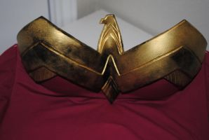 Wonder Woman Chest Plate Above by ZigorC