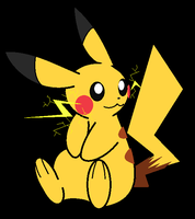 Sparks of a Pikachu by lossetta932