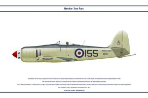 Sea Fury GB 804 NAS 1 by WS-Clave