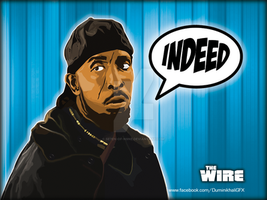 Omar Little from 'The Wire' by SE7EN-OF-N9NE
