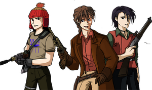 Gundam Wing Browncoats by Impious-Imp