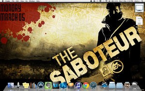 The Saboteur with GeekTool by TXTCLA55