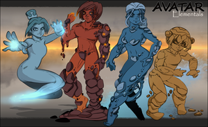 Avatar Elementals by Chronorin