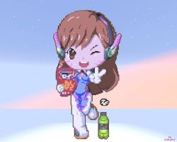 Minecraft Overwatch D.va by kazaret