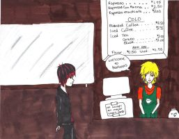 SP - tweek and red goth by HieisQueen07