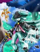 Dust and Fidget Fanart- from Dust an elysian tail by LenLenbell