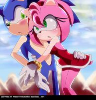 Thanks for save me Sonikku by sonamy94fan