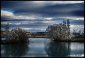 Lake Ruataniwha by shadowfoxcreative
