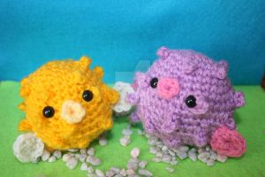 Amigurumi Puffer-Fish by heavenlystuffed