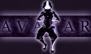 Aang Avatar State - ATLA by xKIBAx