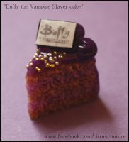 Cake collection: Buffy cake charm by citruscouture
