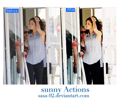 Sunny Actions by sasa-92