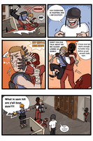 TF2-- Tough day page #6 by MrDataTheAwesome