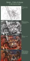 Belial Step by Step by Maxa-art