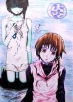 Serial Experiments Lain by SatKyoyama