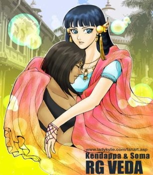 Kendappa and Soma by ladykylie