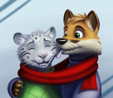 Winter Kiss by CodeFly
