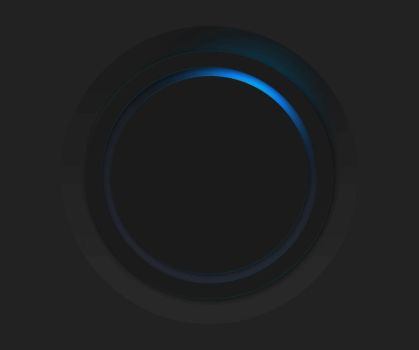 Animation - Button w/ rotating light by AarupPhotography