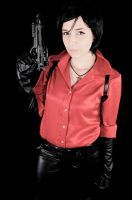 Lady in red - Ada Wong Photoshoot by CarlaGolbat