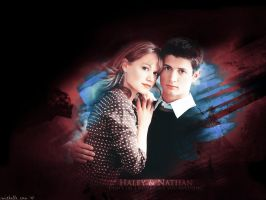 Haley and Nathan by mitchie-v