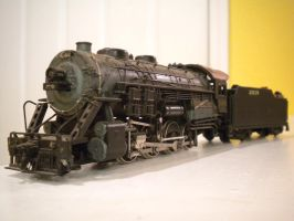 Old Bachmann BIG 2-8-0 by gunslinger87