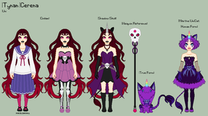 UT - Tynan Reference Sheet + Mila by theRainbowOverlord