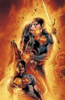 Superboy Annual Cover by Maiolo