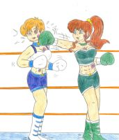 Boxing Uranus vs Jupiter by Jose-Ramiro
