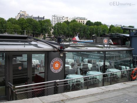 Floating restaurants of Bateaux Parisiens by EUtouring