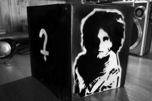 The cure stencil by odd-toddes