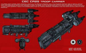 CR25 Troop Carrier ortho [New] by unusualsuspex