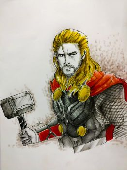 Thor! by Monesh98