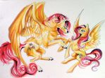 Fluttershy Encounter by Lucky978
