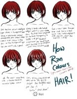 PS Anime Hair Tutorial by doujinshi