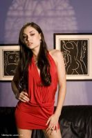 Sasha Grey in Red by ilyas13