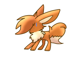I has made an eevee by xXNightTimeChibiXx