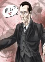 Holmes wants a hug by InfamouslyDorky