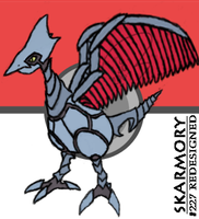 """""""Realistic"""" Skarmory Attempt by BeautifulButch"""