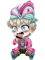 Chibi 2P Pirate England by HetaliaRP-England