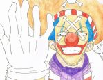 the Clown, Captain Buggy by Puja-chan