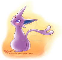 PKM - Espeon by Wingsie