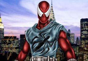 Scarlet Spider by SWAVE18