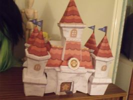 Peach's Castle Papercraft by WonderlandXtreme