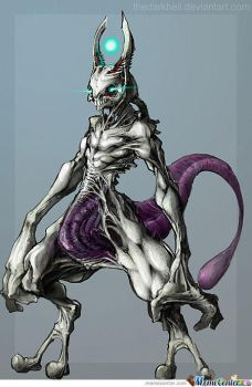 mewtwo by wolfdude128