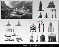 Concepts temple by creative-horizon
