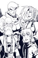 battle chasers by santivill