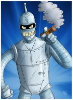 Bender Rodriguez by NapalmDraws