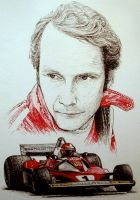 Niki Lauda Tribute by machoart