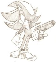 Shadow The Hedgehog! by hectorfan375